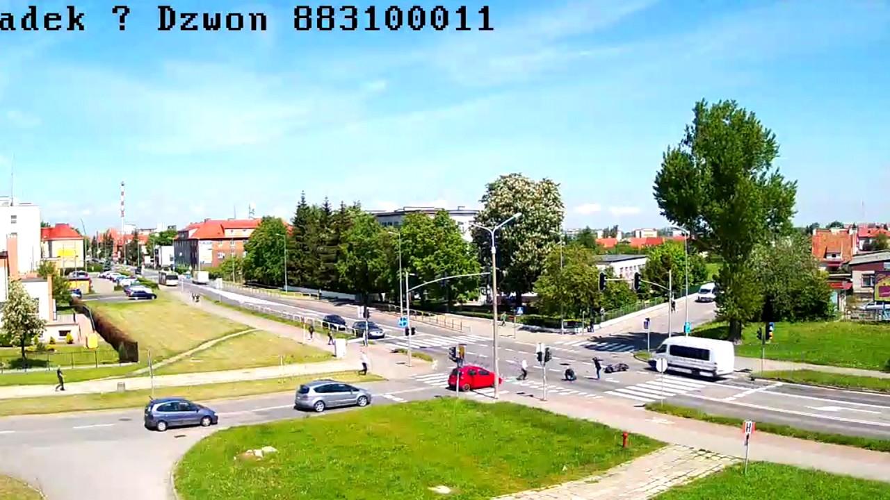 Zderzenia auta ze skuterem w Malborku. Trzy osoby zostały ranne – 25.05.2017