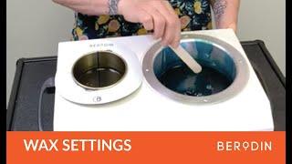 Baixar Temperature Settings for Berodin Waxes