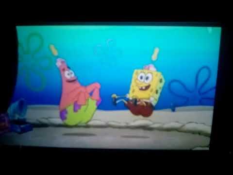 SpongeBob and Patrick Dance the Hot Dog Dance