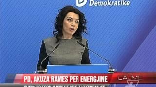 PD, akuza Rames per energjine - News, Lajme - Vizion Plus