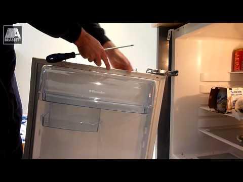 how to fix fridge door