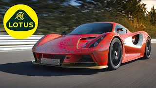 Lotus Evija proto test | Driving Characteristics | 2,000-HP All-Electric Hypercar