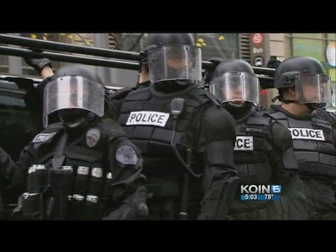 The militarization of police forces in Oregon
