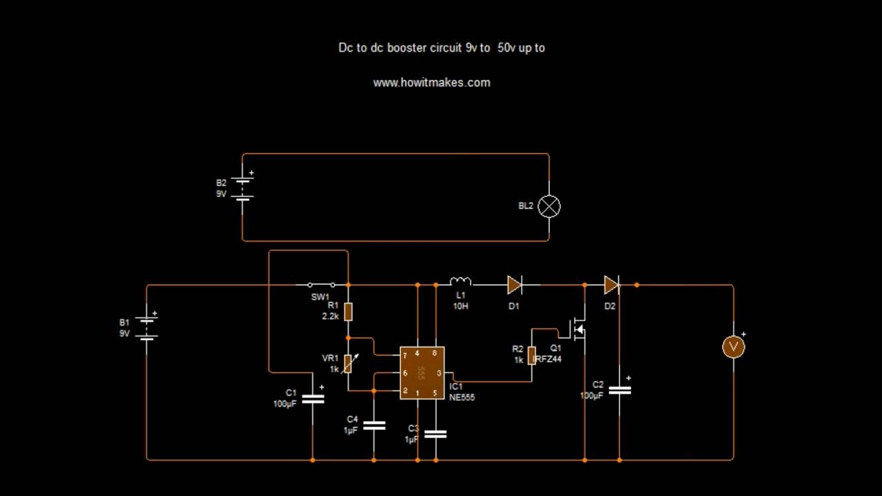 Dc 9 50v To 9v Step Up Buck Power Supply Module Youtube Volt Circuit On Schematic