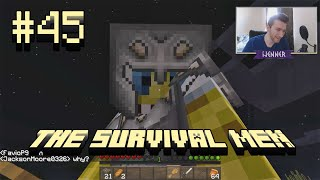minecraft the survival men haunted house 45