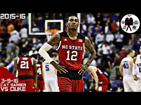 Anthony Cat Barber Full Highlights ACC Tourn vs Duke 2nd Rd (3-9-16) 29 Pts 7 Asts, SICK!