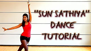 Sun Saathiya  || Dance tutorial || Disney's ABCD 2 || Fresher Party