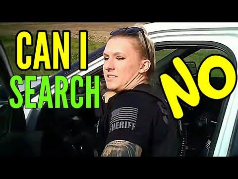 Cop wants to search car & gets shut down man knew his rights 1st amendment audit fail