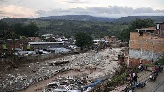 At least 254 people have been killed and hundreds are injured or missing after mudslides destroyed homes in southern Colombia, Reuters has reported, citing an army statement. The violent weather has