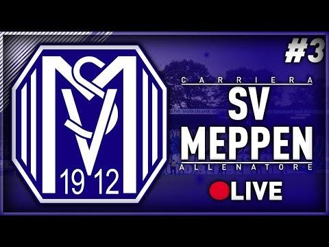 FIFA 18 - CARRIERA ALLENATORE SV MEPPEN IN LIVE #3 -SI CONTINUA!