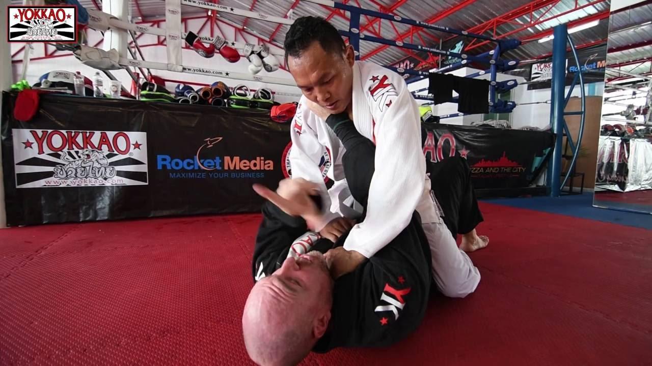 Saenchai Trains Brazilian Jiu Jitsu In Bangkok First
