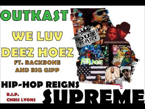 Кліп Outkast - We Luv Deez Hoez