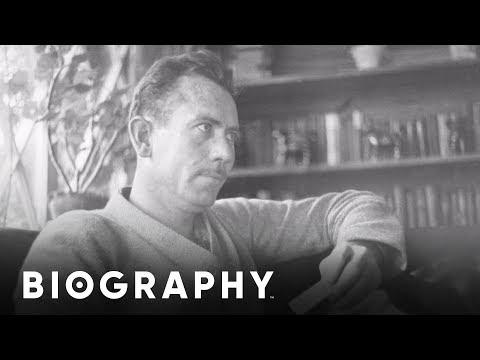 John Steinbeck - Nobel Prize Author | Mini Bio | BIO