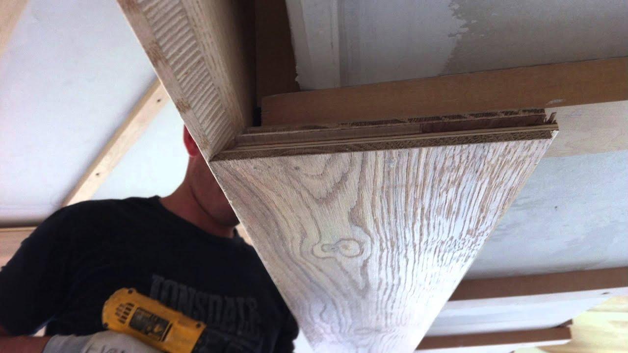 Tende Per Soffitti Inclinati posa parquet trapa al pavimento e soffitto