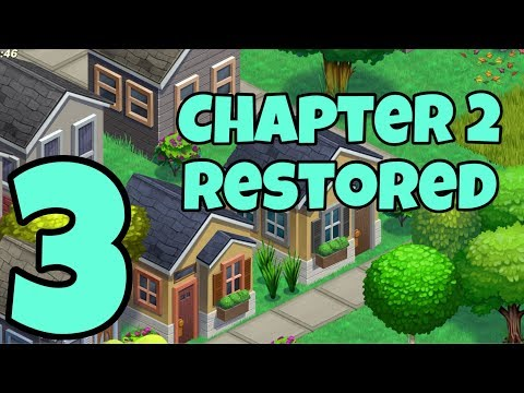 DINER DASH TOWN ADVENTURES - Gameplay Walkthrough Part 3 - Chapter 2 Rostered
