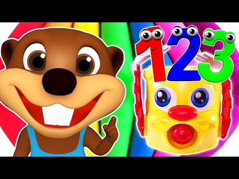 Numbers 123 Songs Collection  Teach Toddlers to Count, Learn Colors & Counting for Kids Children
