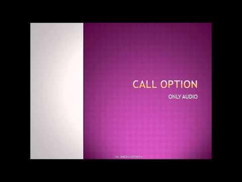 CALL OPTION IN HINDI