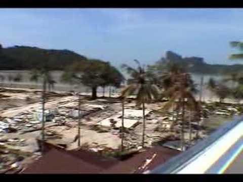 Tsunami 2004 Phi Phi Islands