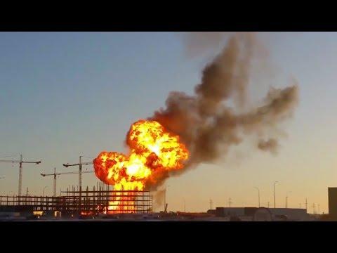 BREAKING NEWS: Major Explosion & Fire In Minot, ND