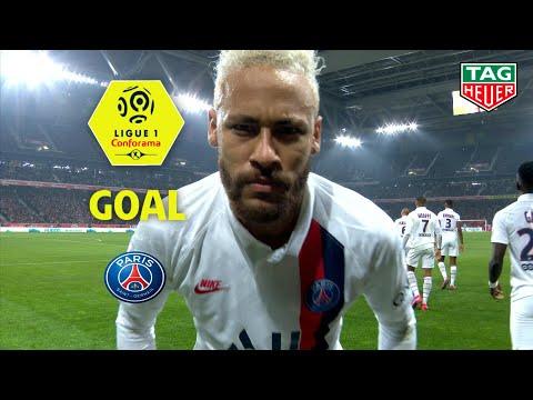 Goal NEYMAR JR (28') / LOSC - Paris Saint-Germain (0-2) (LOSC-PARIS) / 2019-20