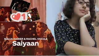 Tunisian Reaction to Saiyaan |Shuja & Rachel |Coke Studio Sn. 12 |Yours from 🇹🇳❣ , Hana