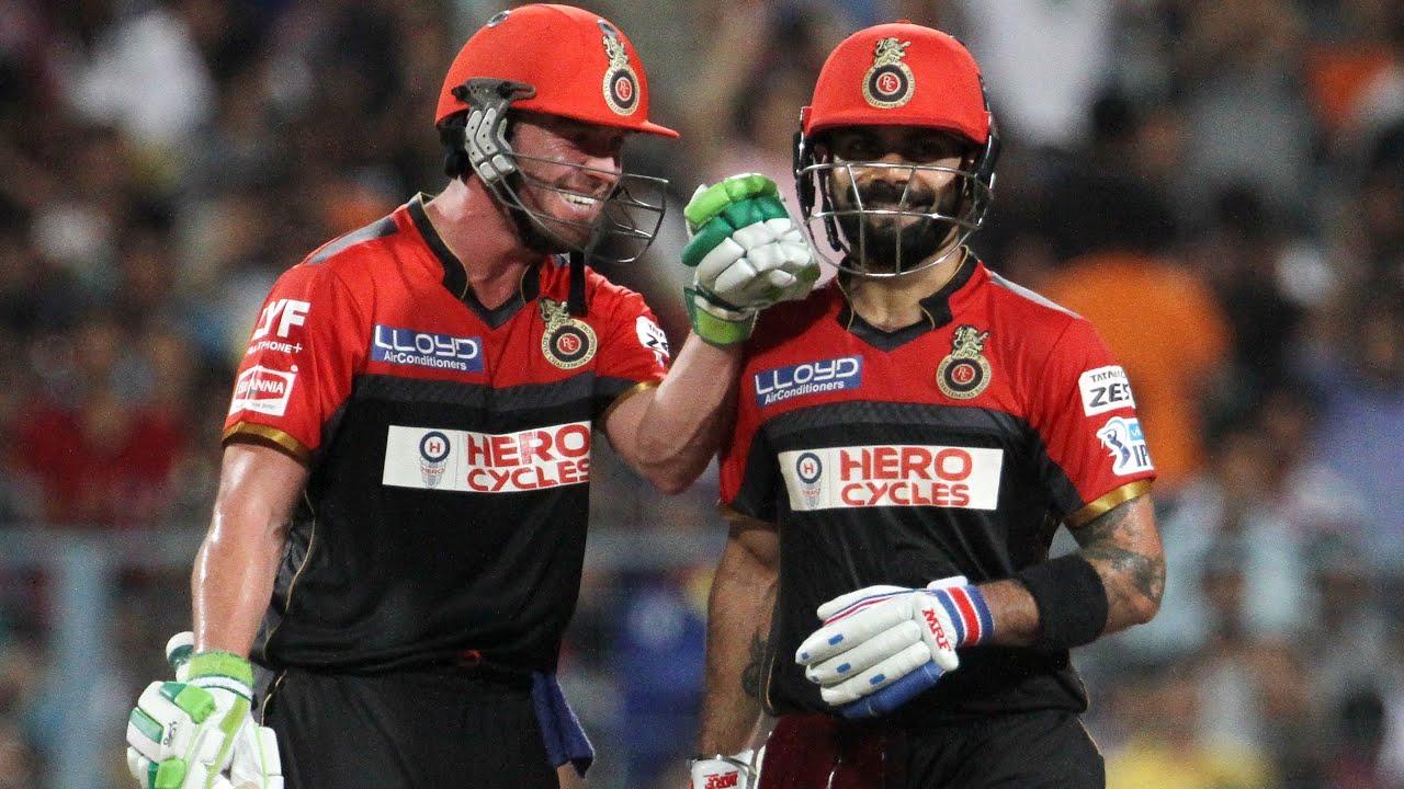 KKR v RCB: Virat Kohli And AB de Villiers Are Like Batman And ...