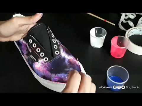 DIY | Galaxy Shoes