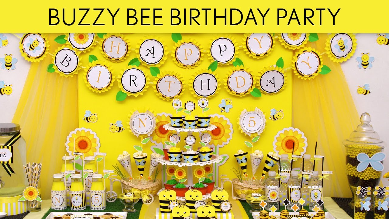 Buzzy bee birthday party ideas buzzy bee b84 youtube buzzy bee birthday party ideas buzzy bee b84 filmwisefo Images