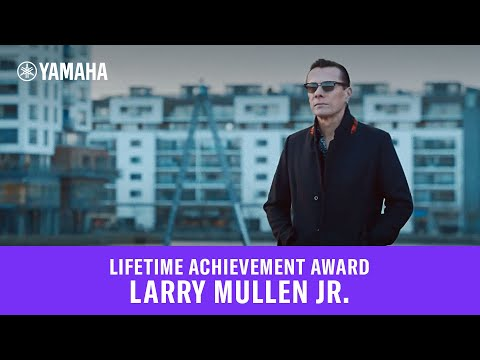 Larry Mullen Jr. - Lifetime Achievement Award
