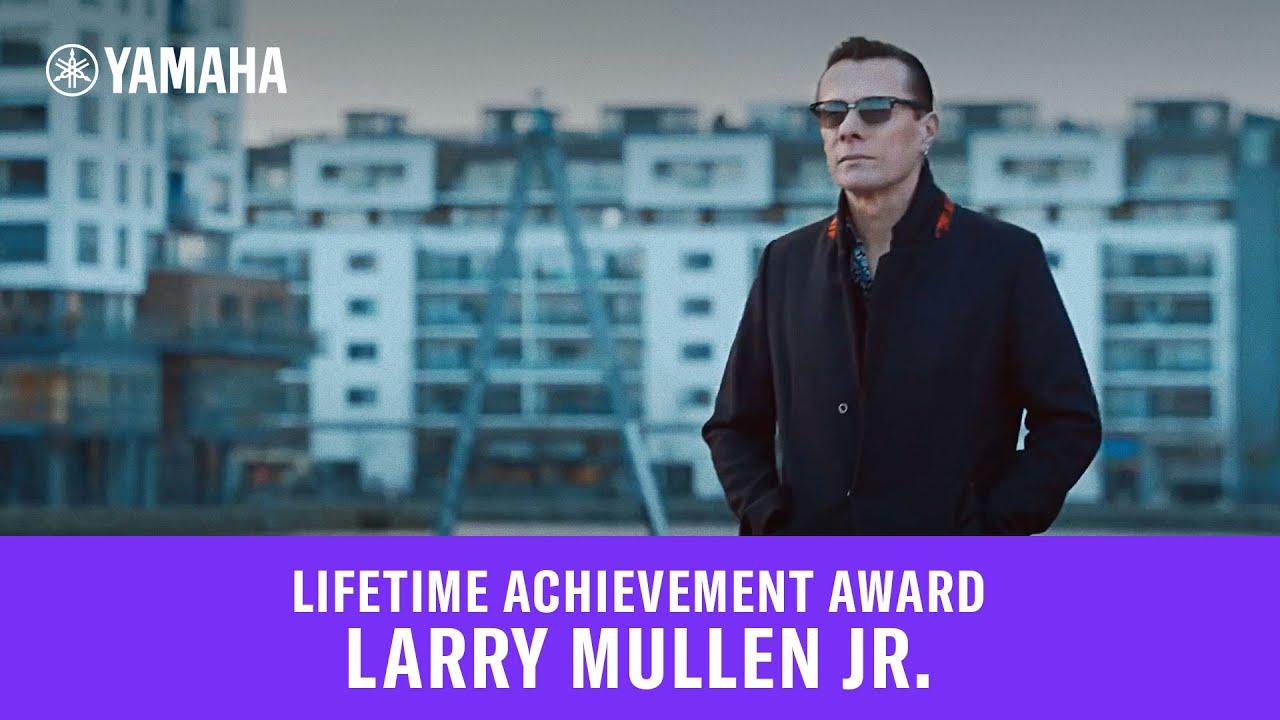 Larry Mullen Jr  - Lifetime Achievement Award