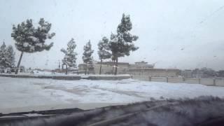 برف در هرات