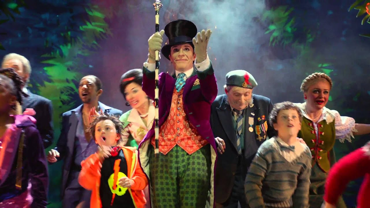 Charlie And The Chocolate Factory Broadway Show