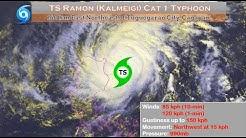 Weather Update- (November 18, 2019) Bagyong Ramon (Kalmeigi)