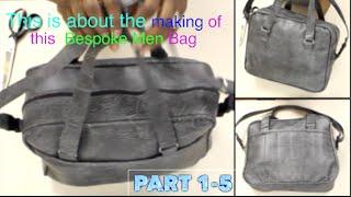 Pattern making for men Custom bag Part 1