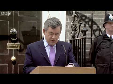 Gordon Brown's Speech - BBC - Election 2010