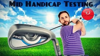 PING GMAX IRONS TESTED BY MID HANDICAPPER