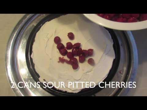 German Cuisine: Schwarzwalder Kirschtorte (Black forest cherry cake)