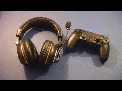 how to set up ps3 wireless headset on the ps4 tutorial. Black Bedroom Furniture Sets. Home Design Ideas