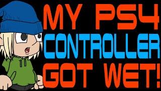 My PS4 Controller Got Wet!
