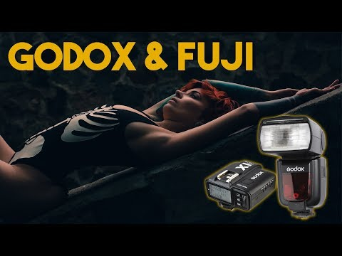 Fuji finally gets the best Flash ever! V860II and TT685 Speedlight review and Godox X1 overview