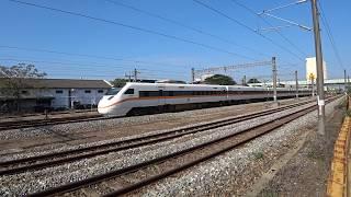 8791次試運轉列車通過斗南車站