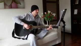 Красивый рэп под гитару