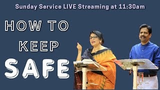 Peter Silway – HΟW TO KEEP SAFE | Sunday Service - 16/05/2021