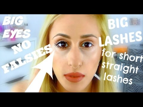 HOW TO - Super Bold Mascara Look for Short Straight Lashes! - DYNA ❤ - 동영상