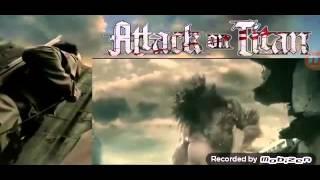 Attack on titan live action, eren vs titans