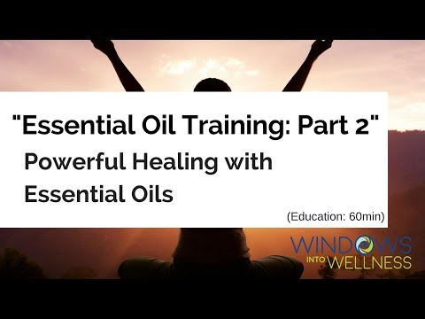 """POWERFUL HEALING w/ESSENTIAL OILS ~ Part II of How to Use the """"NEW Premium Starter Kit"""" w/Arttemis"""