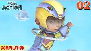 Vir : The Robot Boy | Vir Action Collection - 2 | Action series | WowKidz Action