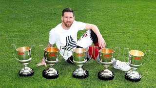 11 UN-BREAKABLE Records That Made Lionel Messi The OFFICIAL GOAT of Football ||HD||