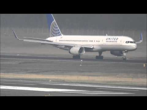 United Airlines Boeing 757-224/W [N41140] - takeoff @ Berlin Tegel Airport! (1080p)