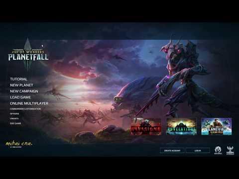 Age of Wonders: Planetfall 2020 - Commander Customization. Games PC Playable on Intel i3  